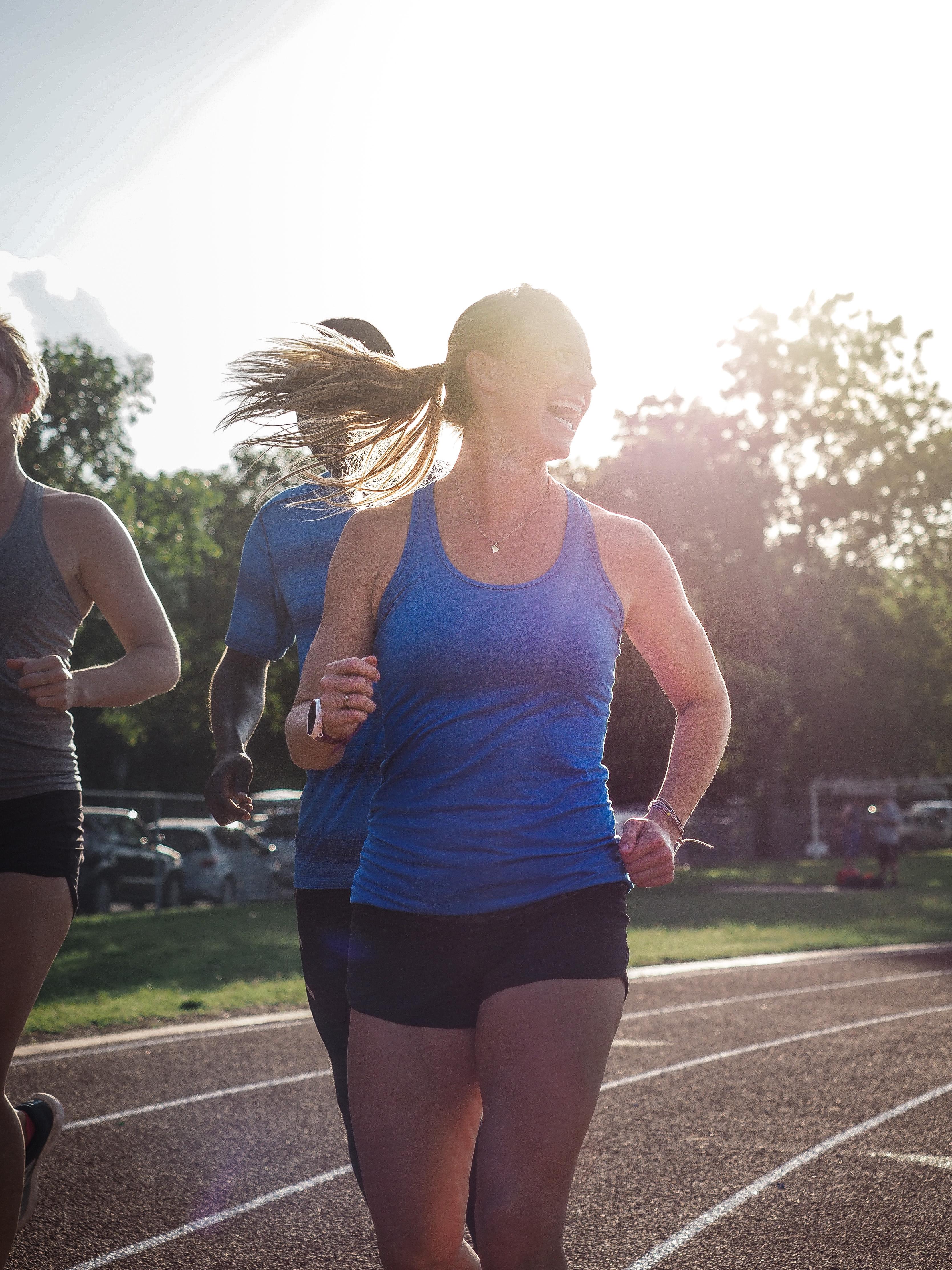Coach Amber Running